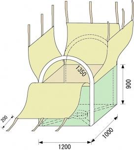 TF-001四角形(1立米)10枚入り
